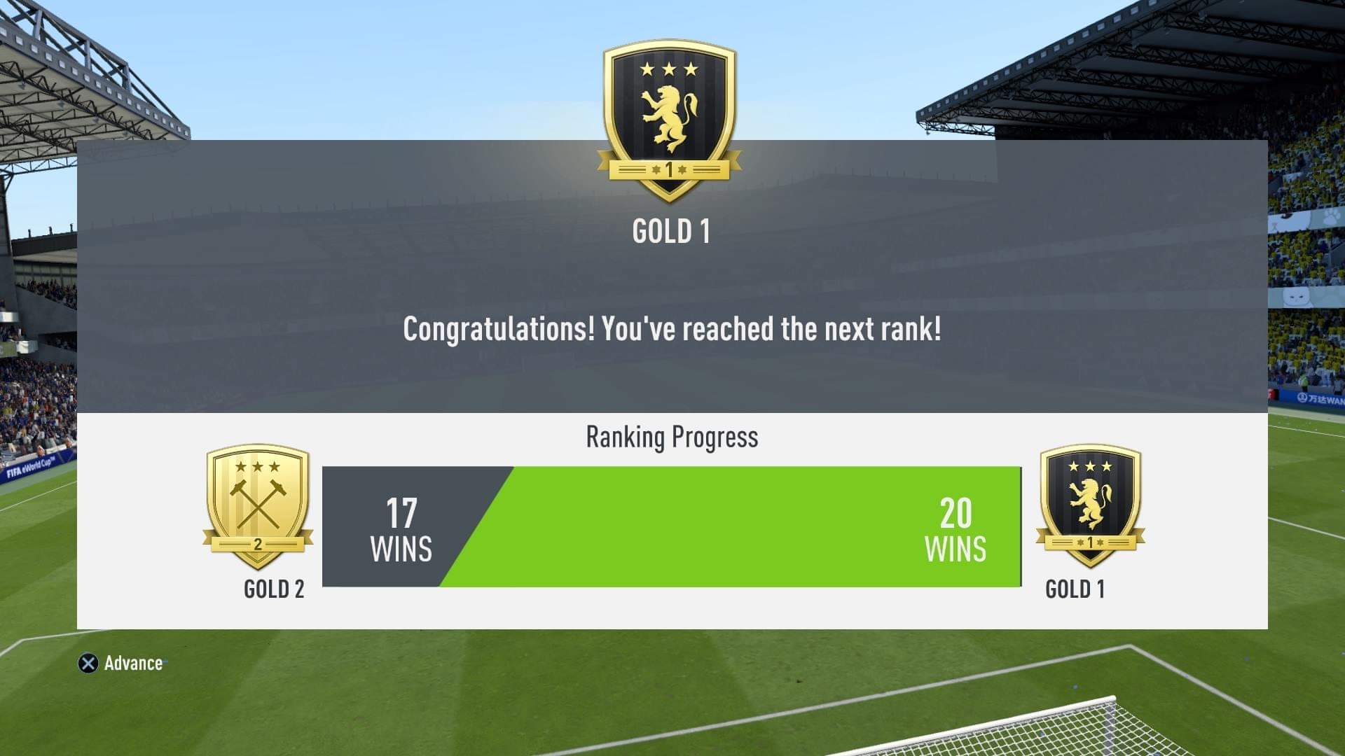 I Will play the FUT Champions for you and get at least gold rank
