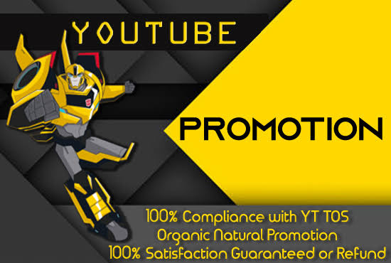 Youtube Marketing Safe Video Promotion Real Via User