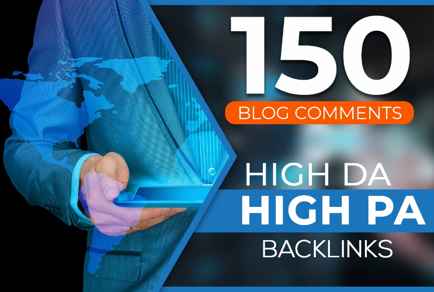 I will create 150 manual dofollow blog comment with high da pa