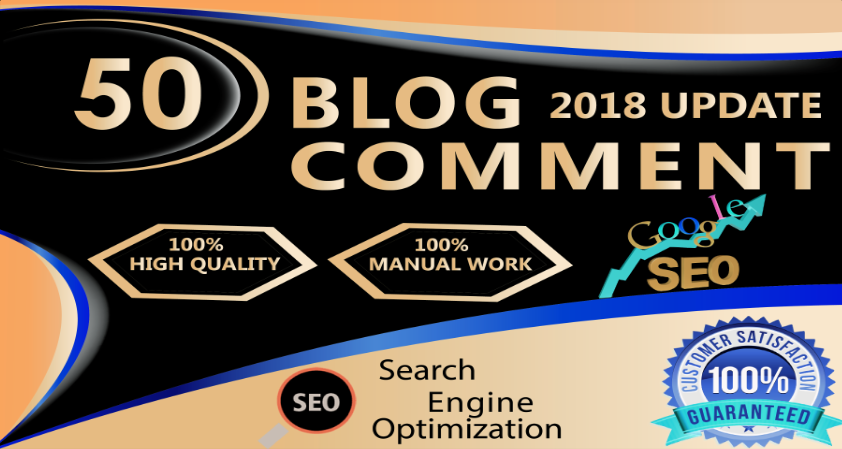 Manual Dofollow 50 Blog Comment With High DA PA And High Quality Links