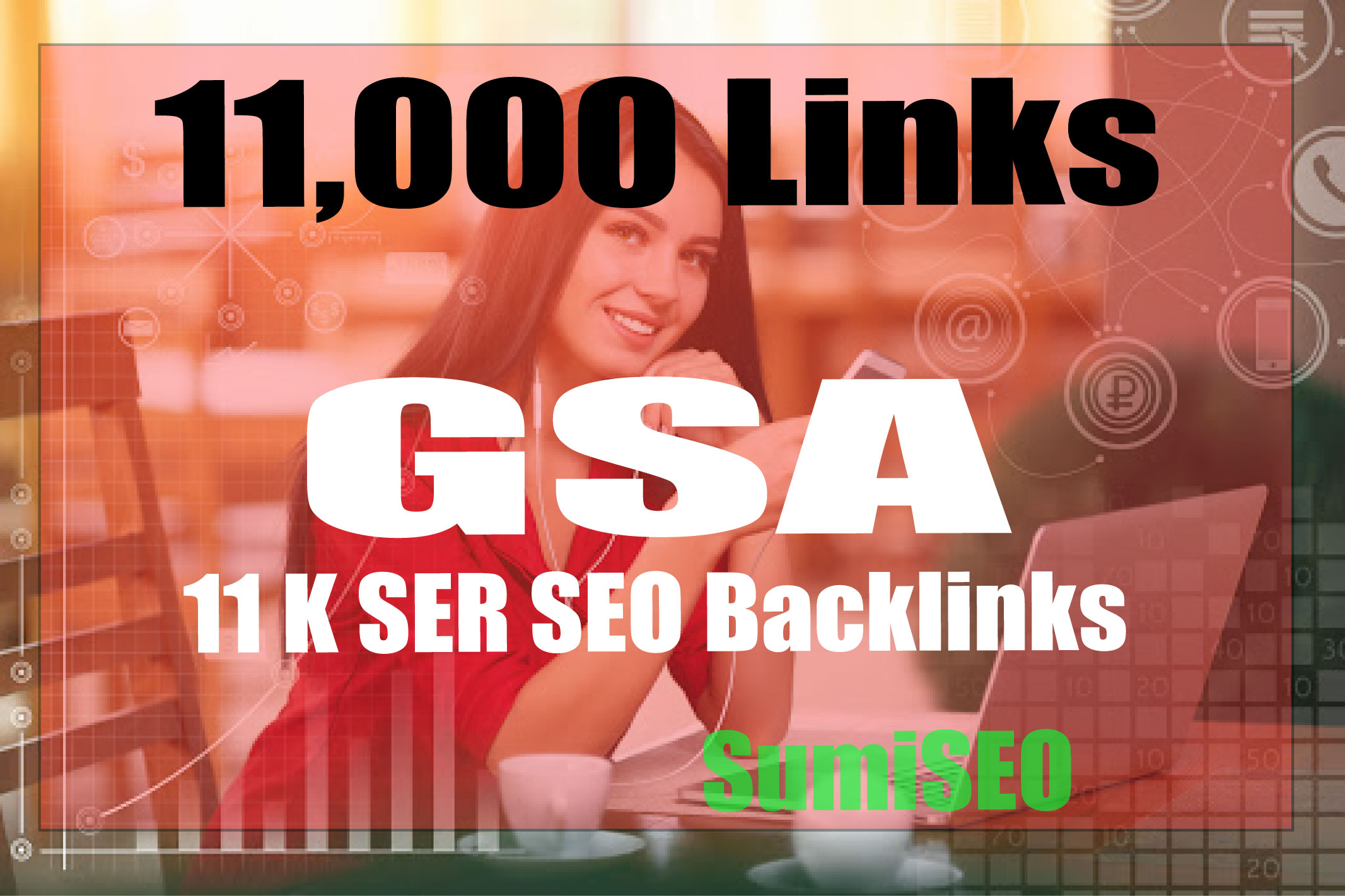 SEO create verified 11,000 GSA backlinks for your site booster for higher rank
