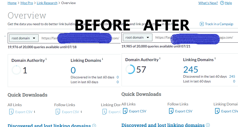 Boost DA To 60+ FAST - Exclusive On Seoclerks
