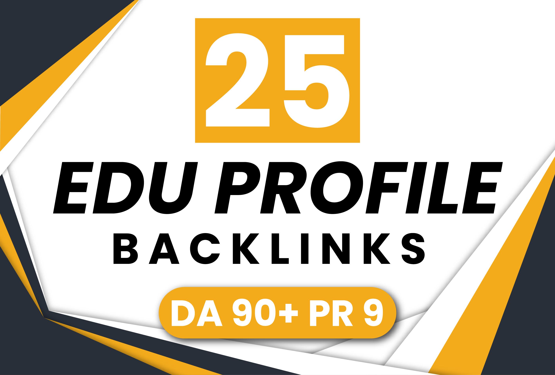 DO 25 PLUS US BASED EDU-GOV Backlinks ON DA90 UNIQUE DOMAINS Manually
