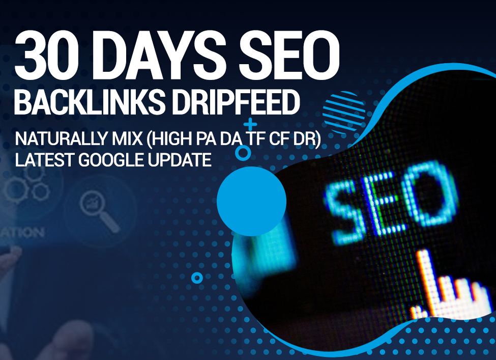 Do Rank Your Website on Google Top,  SEO Backlinks 30 Days Dripfeed Manual Work