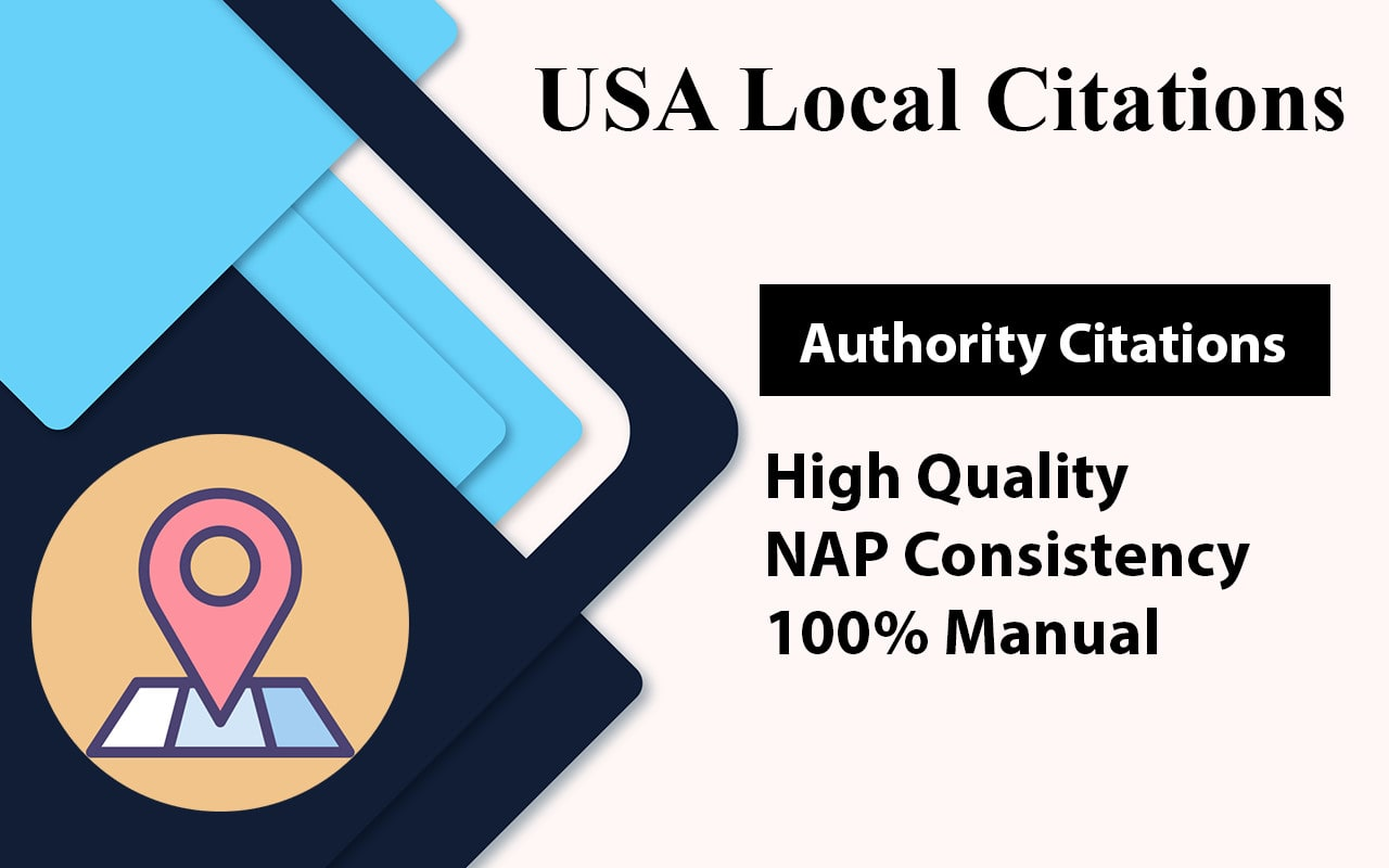 I will manually submit 25 High DA and PA USA local citations for your business