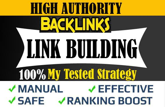 I will create 5 powerful high dofollow backlinks for off page seo