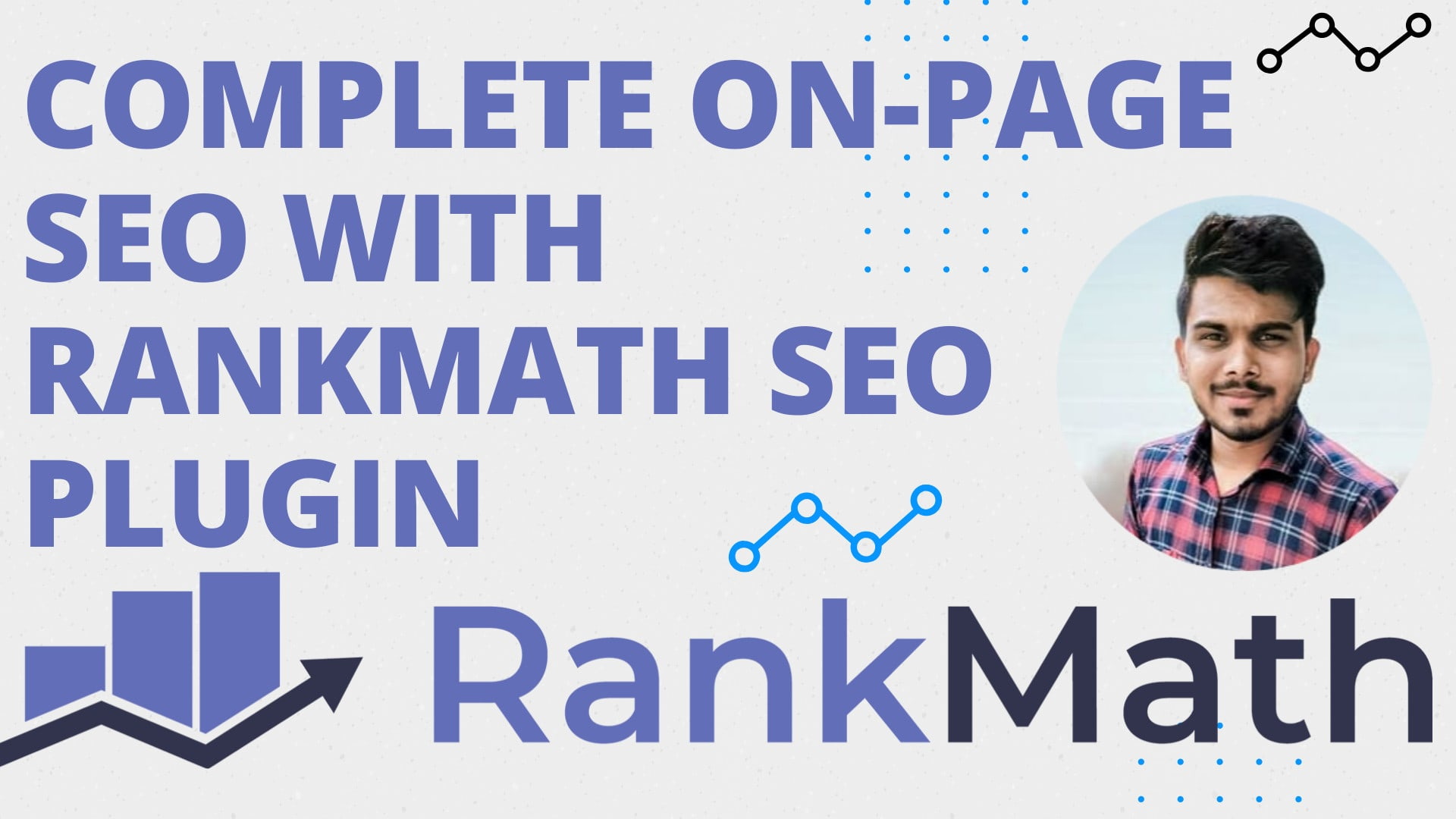 I will do onpage SEO for your wordpress website with rankmath plugin