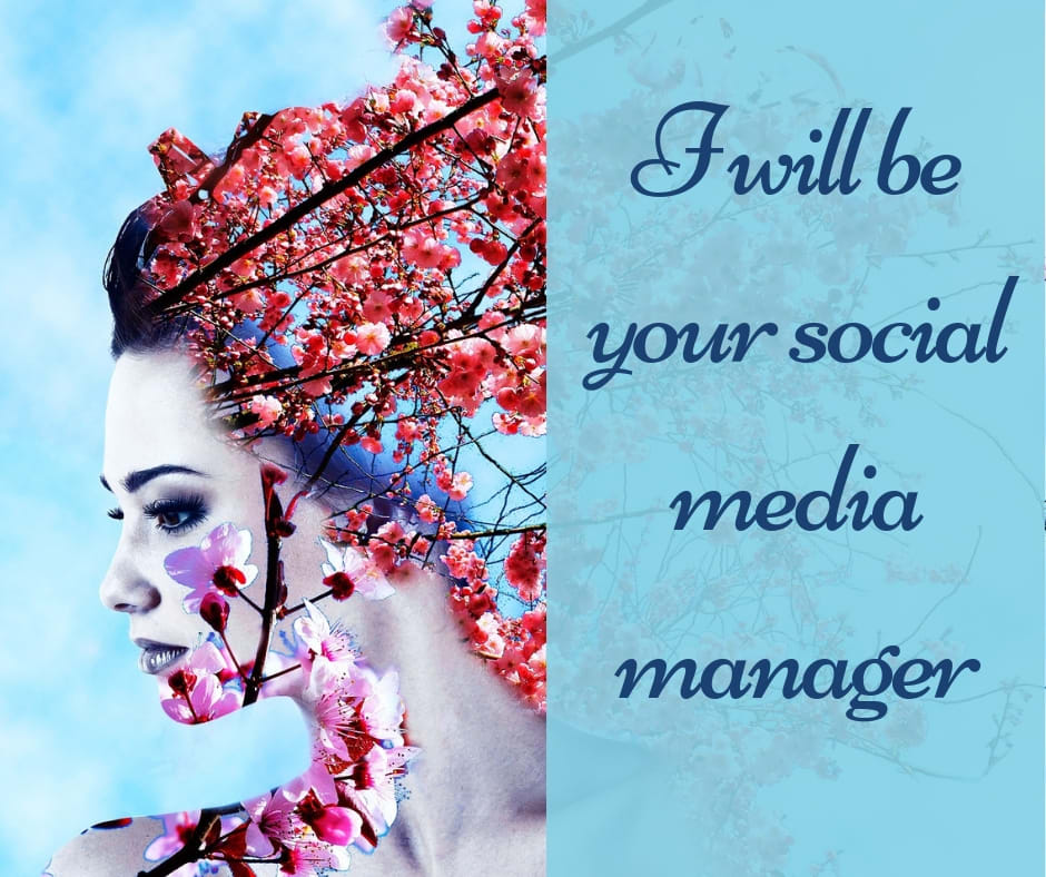 I will be your social media manager,  social media marketing,  content creator