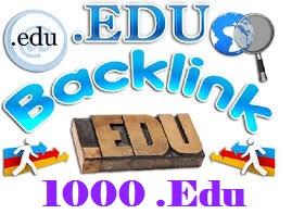 I will Get you 1000. EDU High Authority Backlink