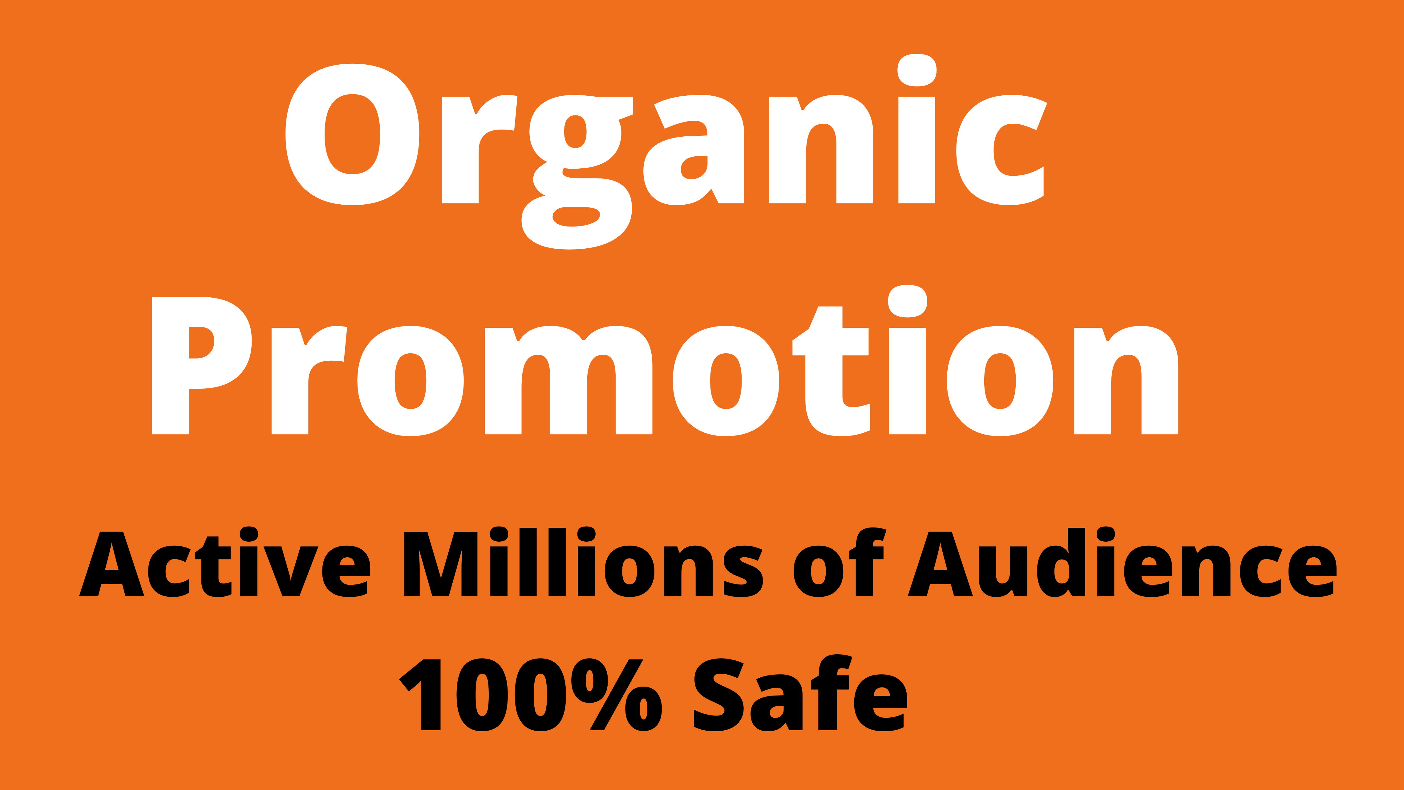 Promote your tweets message to 5 millions organic audience