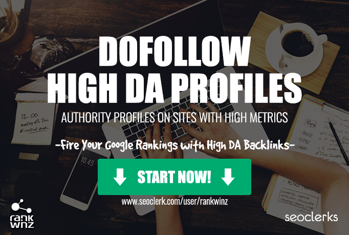 High DA Profiles on Authority and Real Aged sites, MANUAL WORK