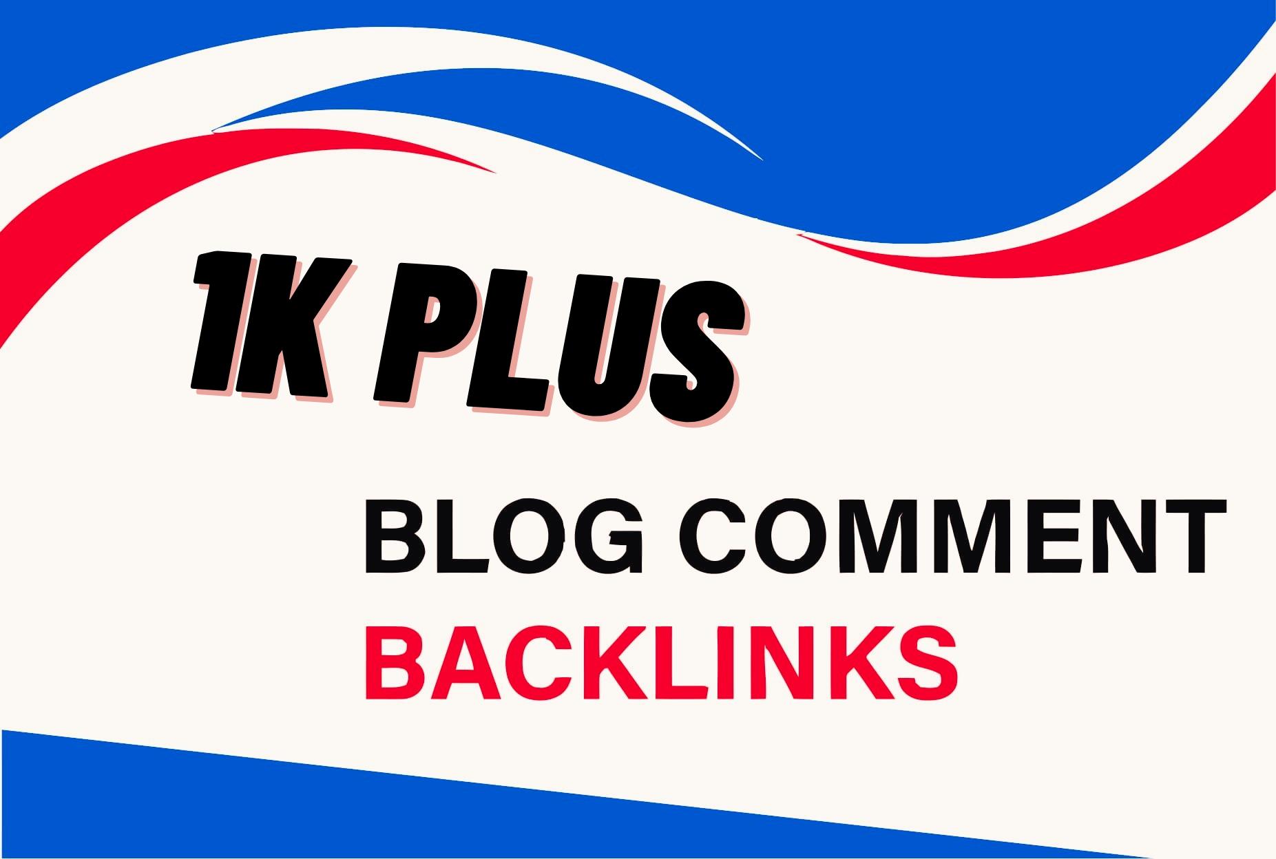 Do 1010 Blog comments Backlinks