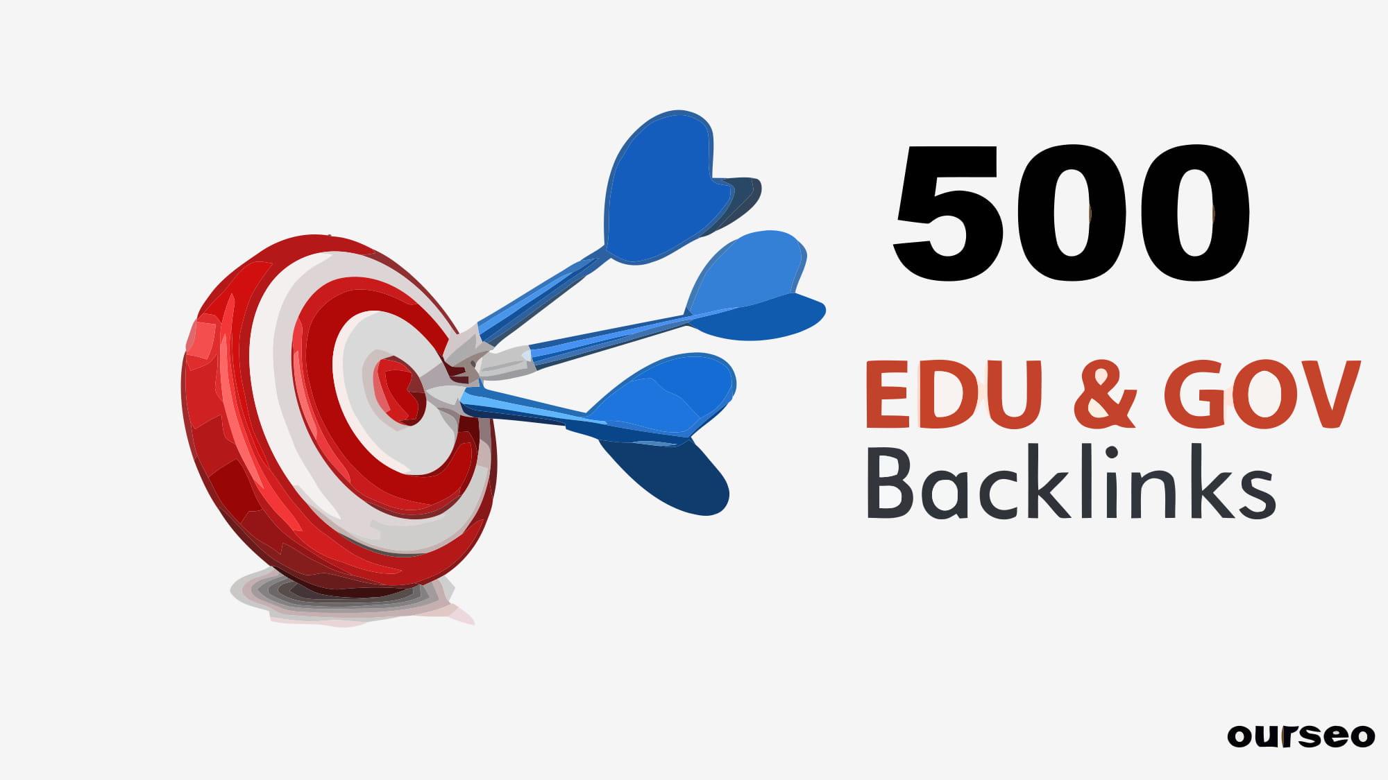 Provide 500 plus edu gov backlinks