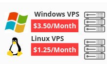 Download The list of 10 Cheapest VPS/RDP Providers