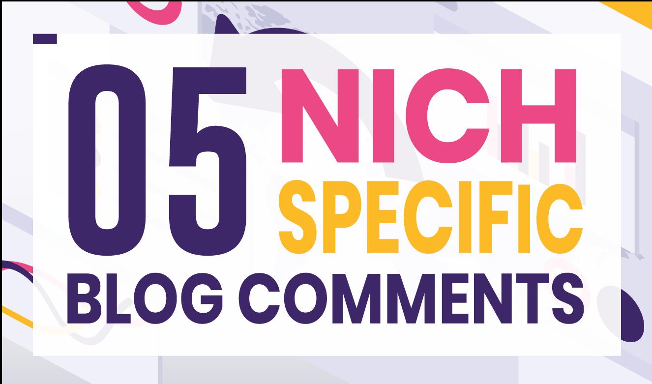 I will provide 05 High DA 30+ Niche Backlinks human generated