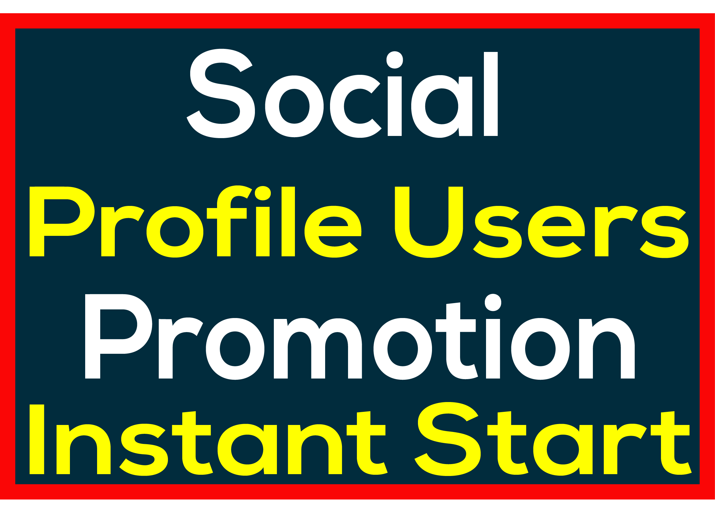 Social Media PROFILE HQ User Promotion