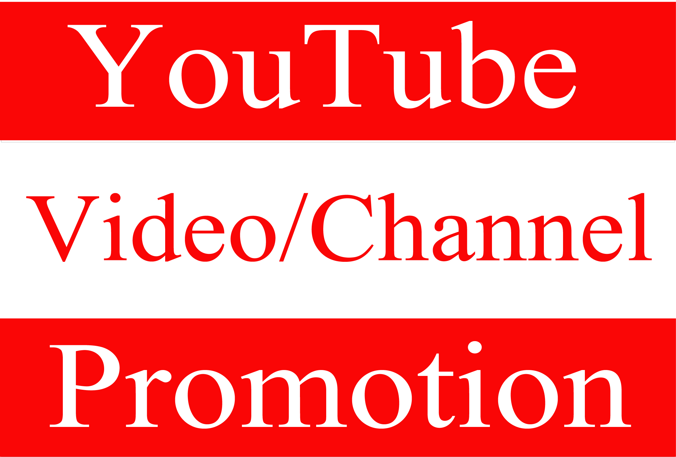 YouTube Video Fast Promotion and Social Marketing