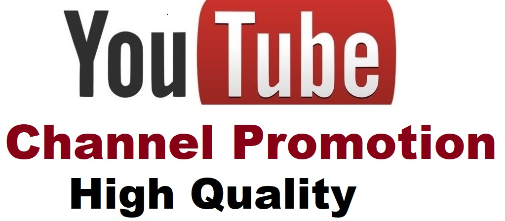 Youtube Account Promotion and Marketing Worldwide User