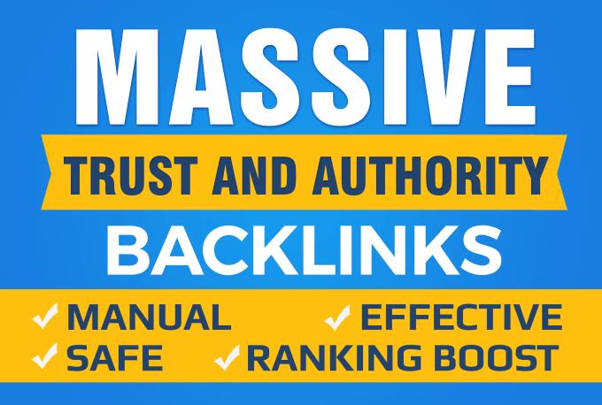 500 Dofollow High PR Authority Backlinks Guaranteed