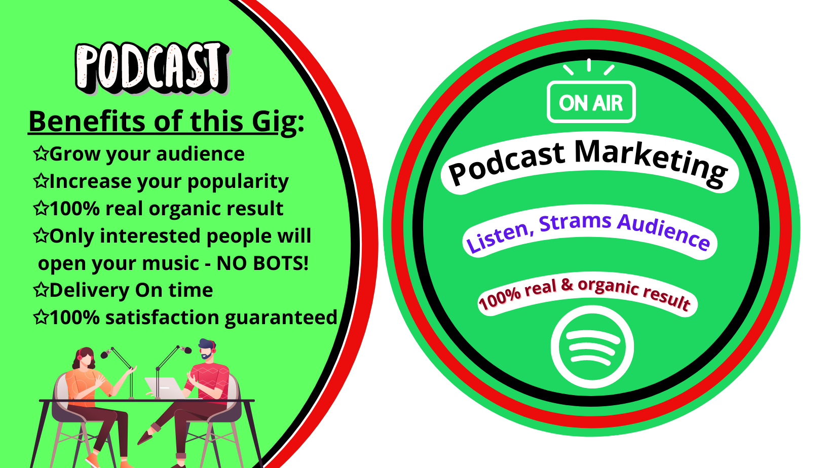 Advertising and promote your podcast to more targeted listens and audiences