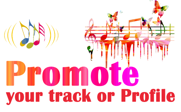 Promote your music track or profile with human manual services