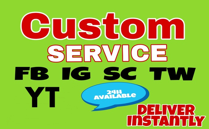 Best Custom Order Service for all services