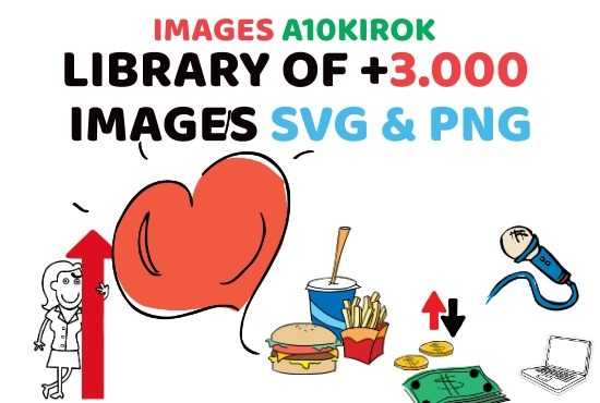 3000 Images For Your Videos Animation Svg