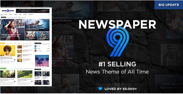 Beautiful Wordpress E-commerce Newspaper website create with premium theme