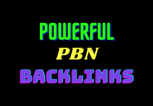 Get 5 PBNs Back-links with high domain metrics to improve ranking