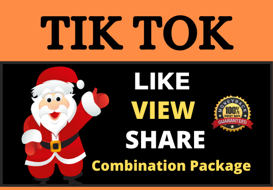 Best Quality TikTok Video Promotion Combination Package Boost Your Video