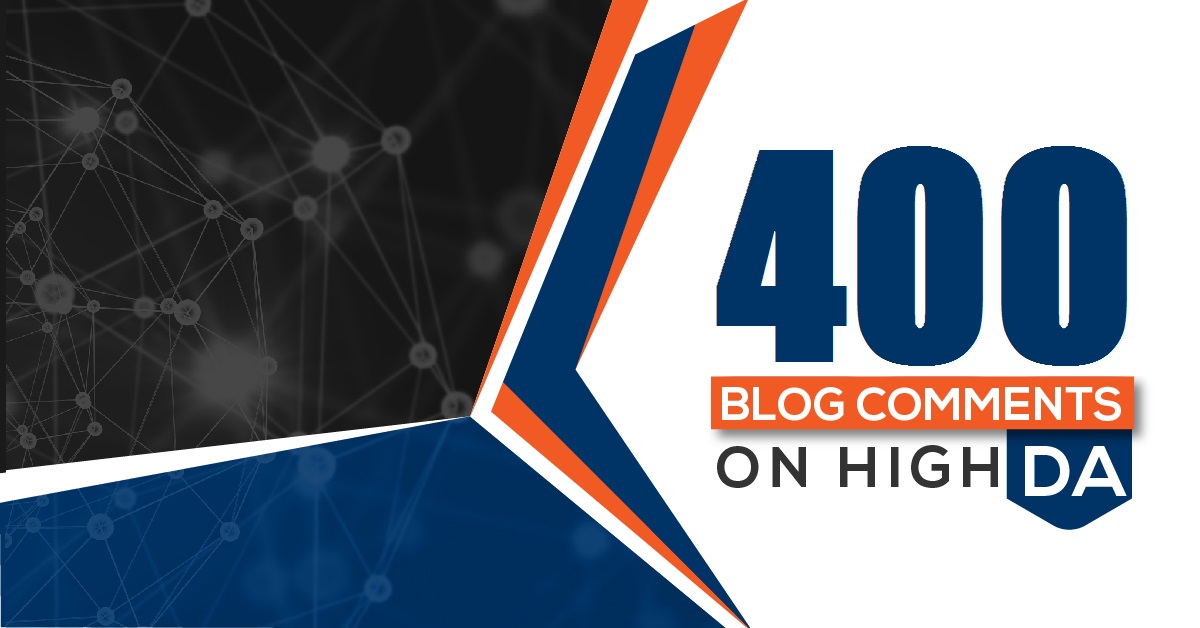 Manual Build 400 High Athority Blog Comments Backlinks