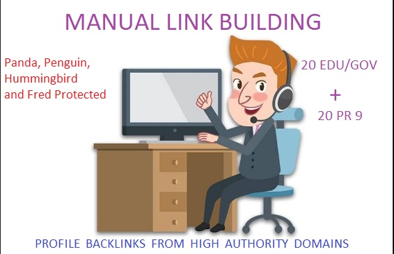 20 Edu - Gov + 20 PR 9 High PR SEO Authority Backlinks - Fire your Google Ranking
