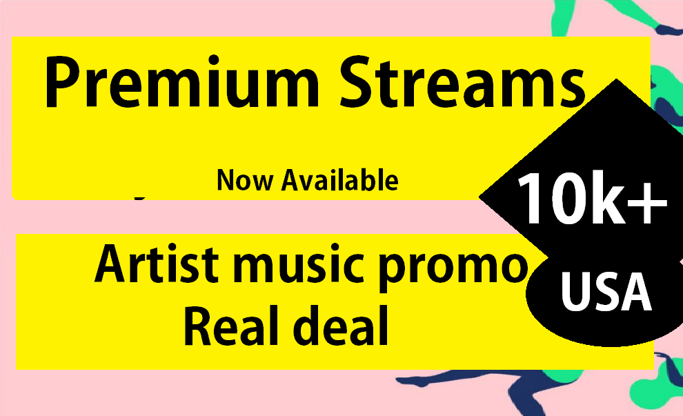one thousand streams for your track