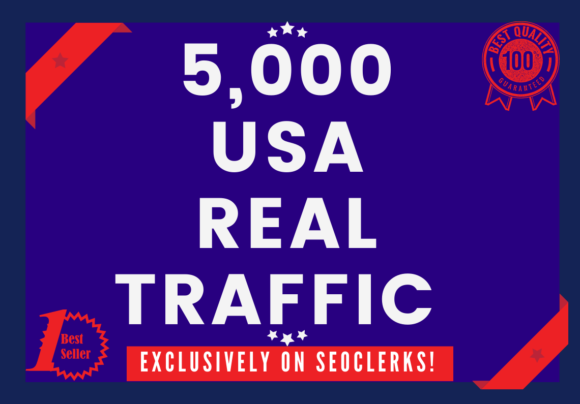 Send 5000+ Real Human Traffic from USA