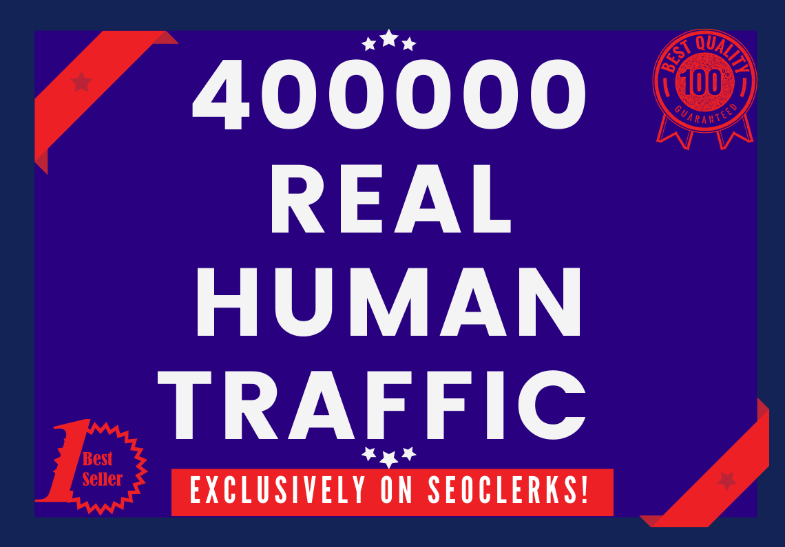 Send 400000+ Real Human Traffic by Google Bing Yahoo etc