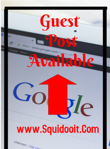 Publish your Guest Post On Squidooit. Com