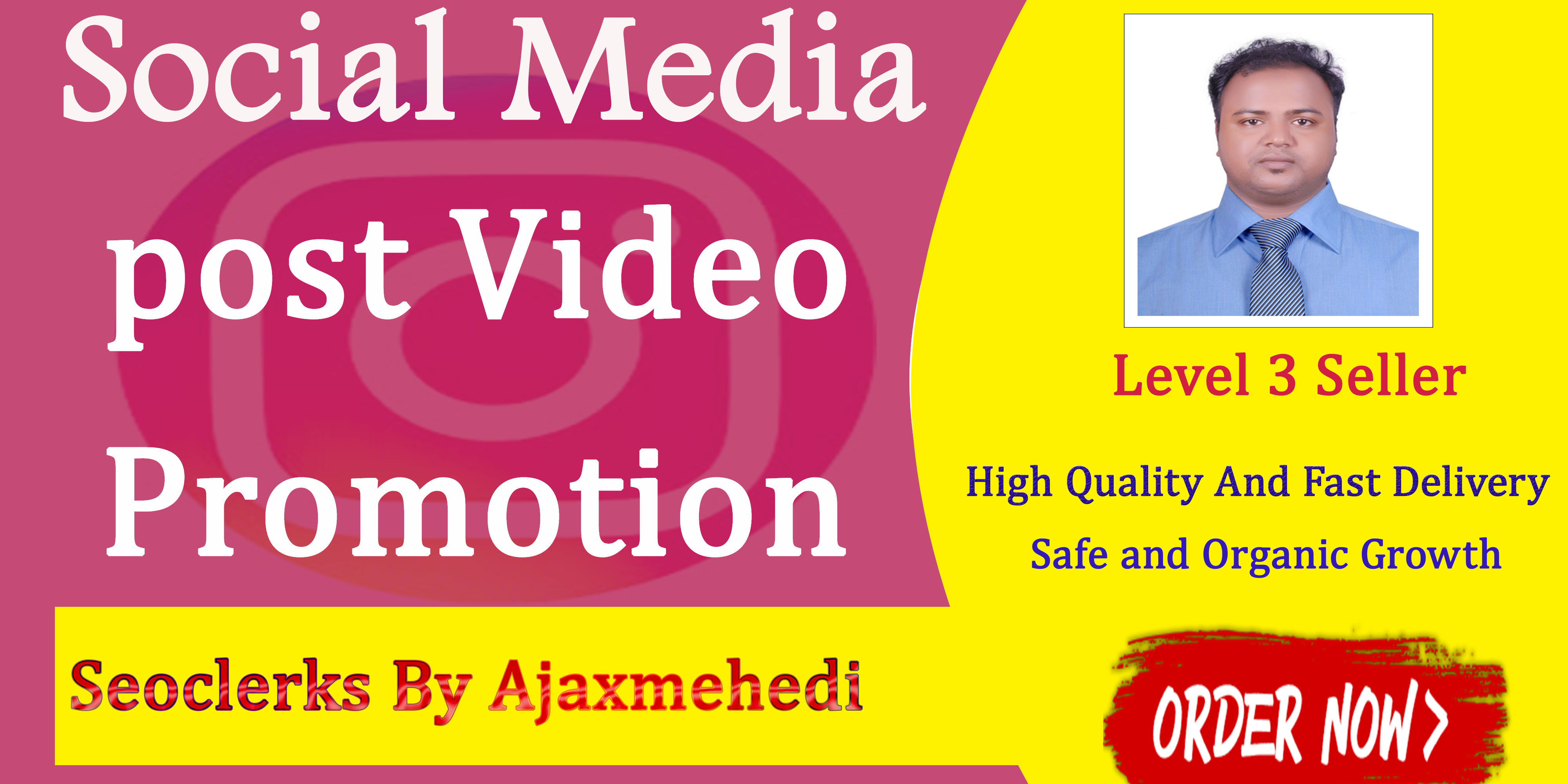 Genuine And ultra fast Do A High-Quality Video Promotion