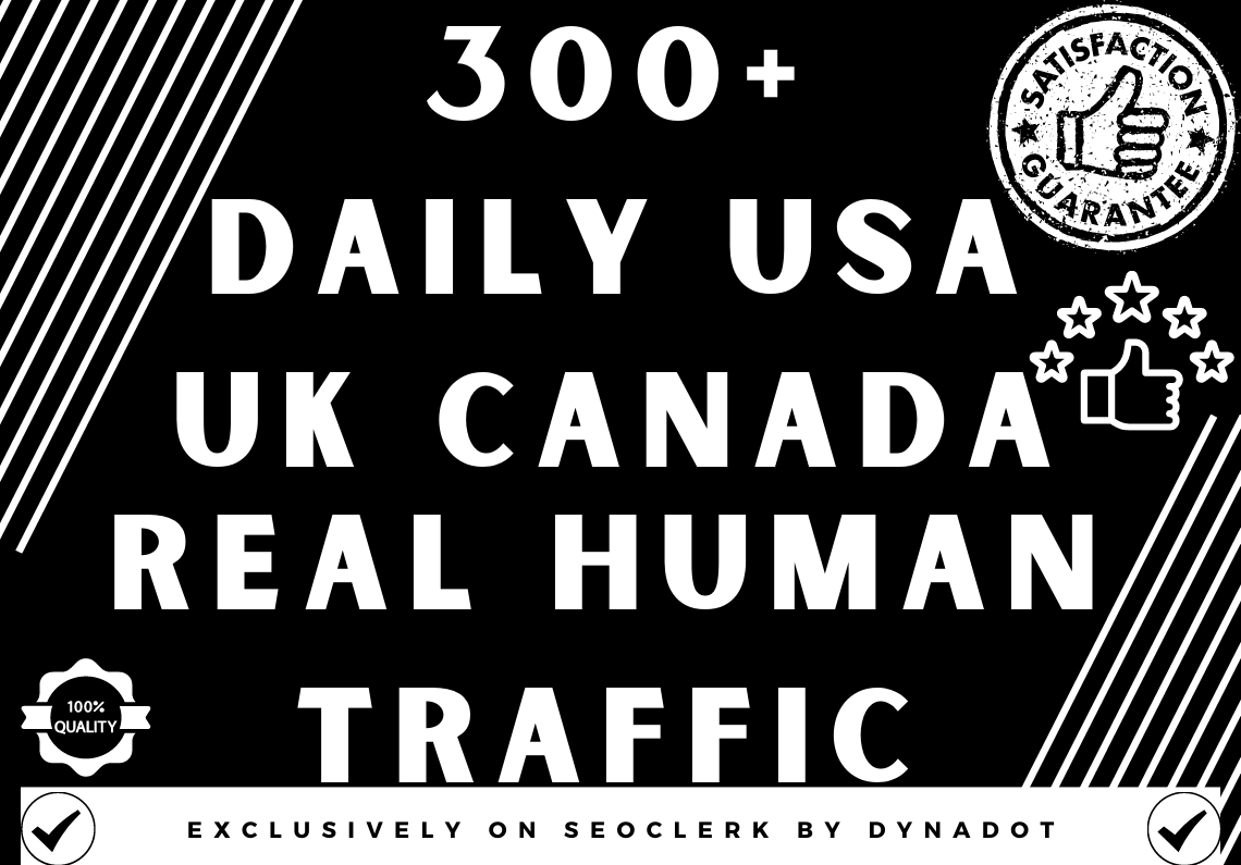 300+ Daily keyword Target Traffic from USA/UK/CANADA for 10 days