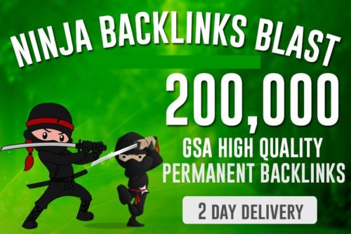 200,000 SEO Backlinks for Website Ranking