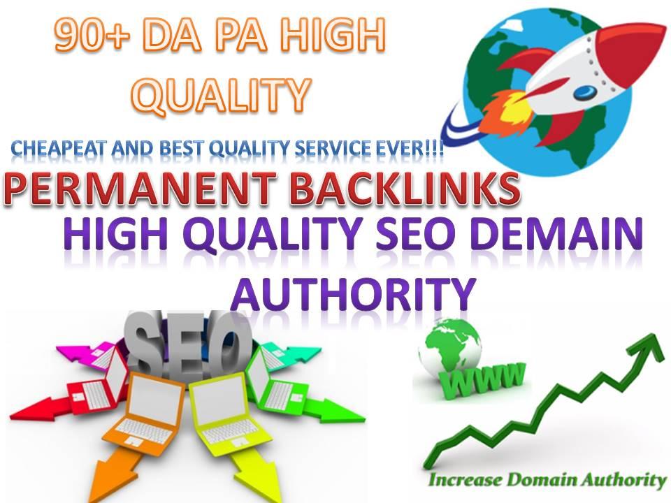 Build 20 Pr9 - 90+ DA High Quality SEO Domain Authority Permanent Backlinks - Google Ranking