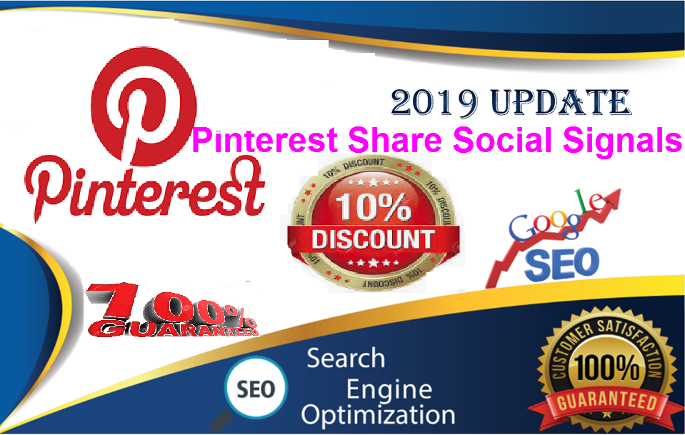 Gig Offer for You 30,000 pinterest LifeTime share Real SEO Social Signals Share Bookmarks Important