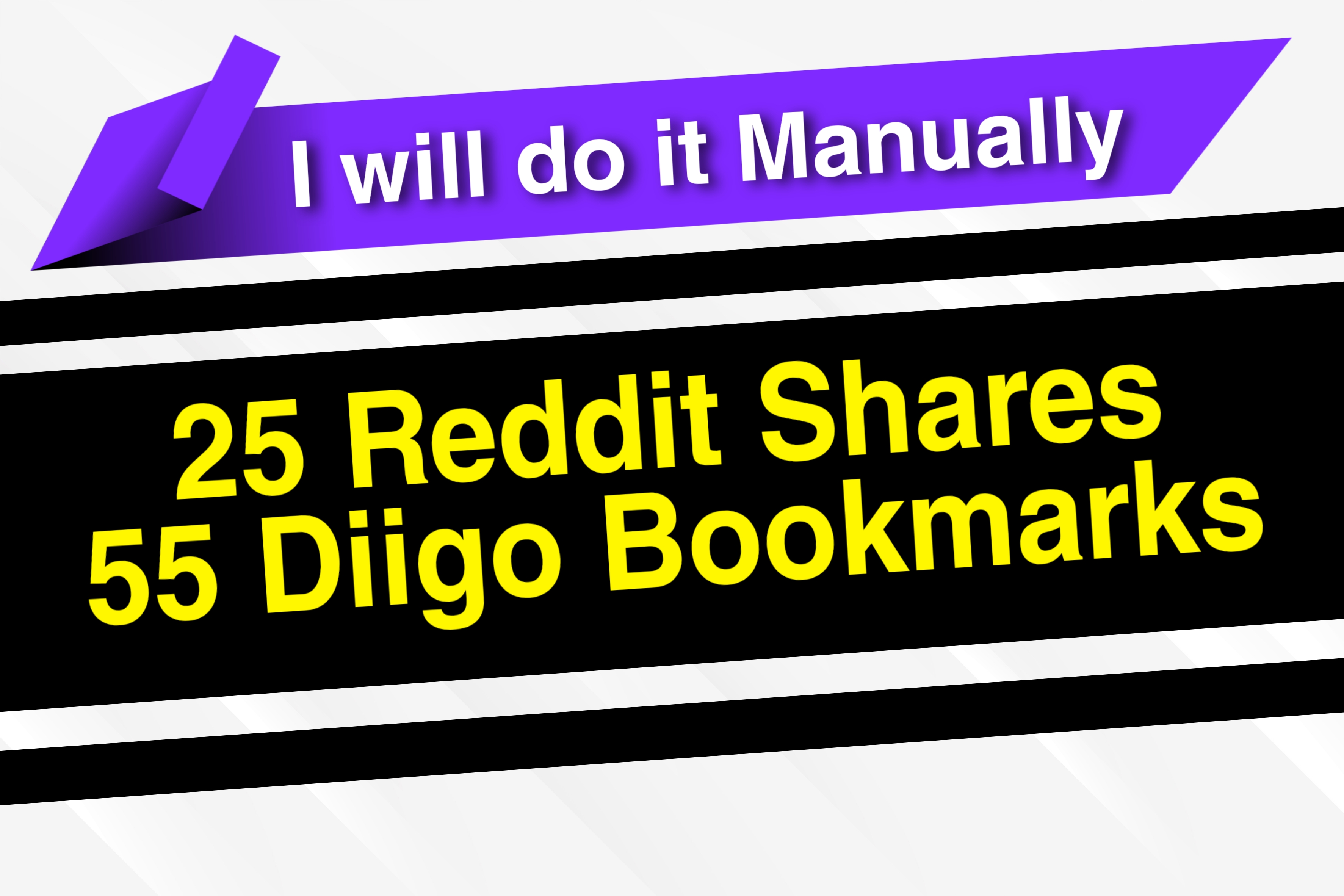 I will Manually Give 80 Mixed Signals of Reddit and Diigo to Boost your web on Any Search Engine