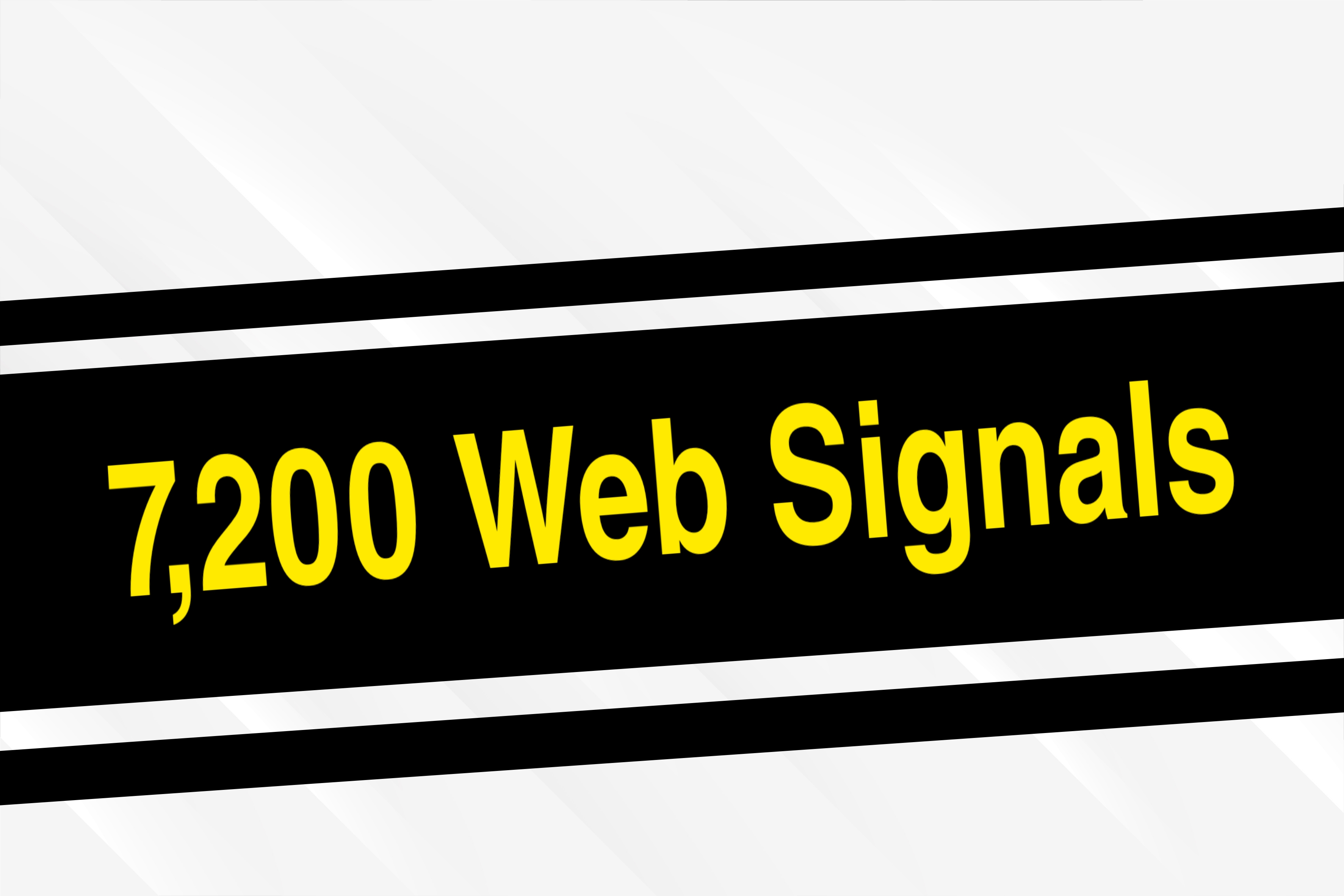 7,200 High-Quality Web Social Signals, Helps you Rank up Quickly on Any Search Engine