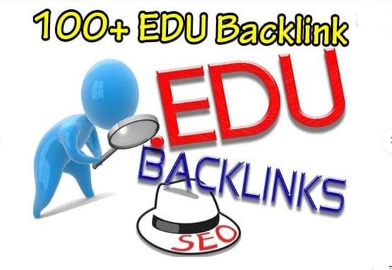 I will do 100 edu backlinks high domaim with high authority improve your website ranking