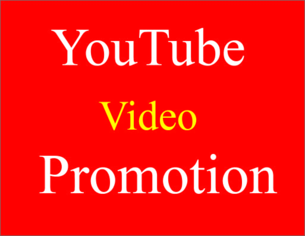 Fast Natural YouTube video promotion & Social media Marketing