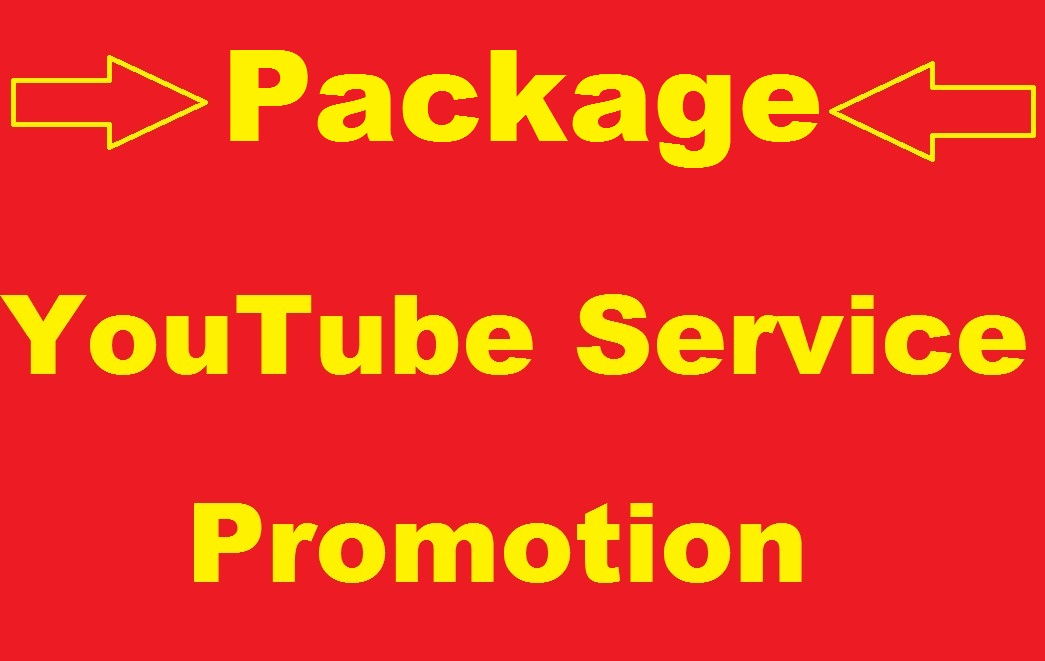 YouTube Package Promotion On Your Videos