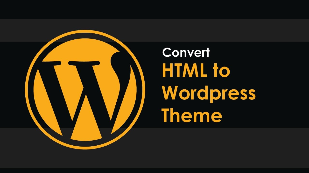 Convert HTML to WordPress Site in 1 Days only