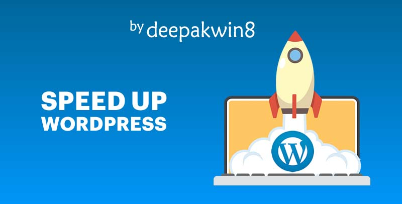WordPress Site Speed Optimization,  Increase Speed up-to 2X