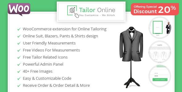Tailor Online - WooCommerce Plugin for Online Custom Tailoring