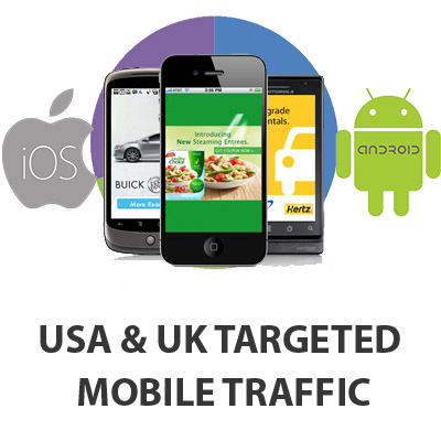 10.000 Mobile Traffic for your website
